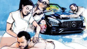 Motorista para te buscar na balada, cartório vip e até mecânico particular: os mimos dos seguros de carrões